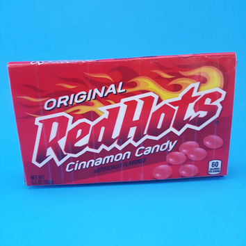 Red Hots Women's Wallet - Upcycled Candy Box Wallet