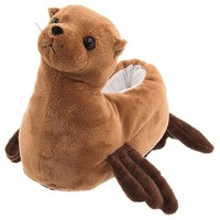 "Wishpets 8"" Sea Lion Slippers Plush Toy"
