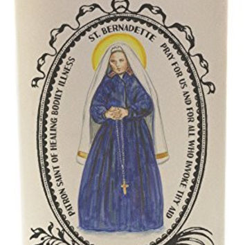 St Bernadette Healing Bodily Illness 20 oz Soy Scented Prayer Candle