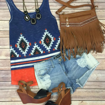 Top Knotch Tribal Top