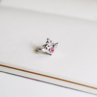 Moon Crisis ring, Sailor Moon jewel adjustable ring