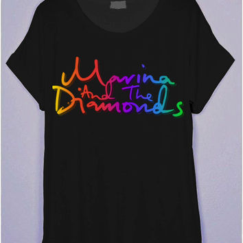 Marina and the Diamonds FROOT 85 Black T-Shirt | CrewWear
