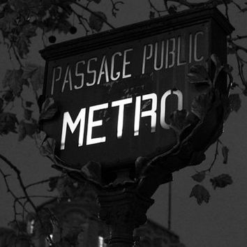 Paris decor gothic art black and white art photography print art Paris retro signboard street art France Europe 4x6 5x7 6x8 8x10 10x15