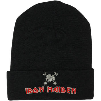 Iron Maiden Men's Final Frontier Beanie Beanie Black