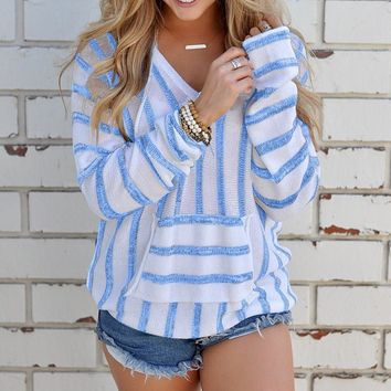 Women'S Casual Striped Shirt