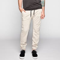 Lira Sunday Mens Jogger Pants Khaki  In Sizes