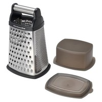 KitchenAid black Box Grater w Storage