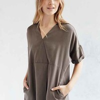 Silence + Noise Pleated Tencel Tunic Top