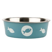 Whiskery City® Steel Bella Bowls
