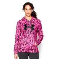 Under Armour Women's UA Power In Pink Armour Fleece Big Logo Hoodie