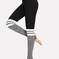 Two Tone Stirrup Leggings