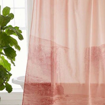 Dreamy Waterfalls Shower Curtain | Urban Outfitters