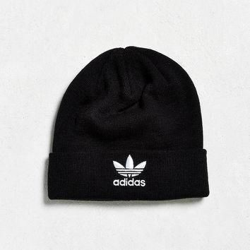 adidas Trefoil Knit Beanie | Urban Outfitters