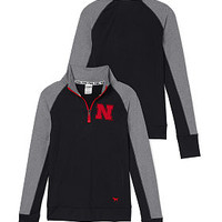 University of Nebraska Ultiamte Half-Zip - PINK - Victoria's Secret