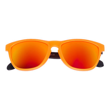 Bangers - Spring Break Keyhole Sunglasses - Juice (Orange)