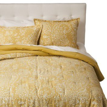 Threshold™ Paisley Comforter Set - Yellow