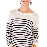 Boarding School Striped Sweater