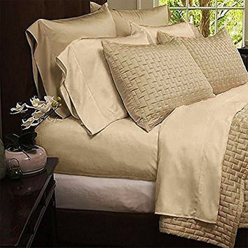 Home Luxury Bamboo Bed Sheets Hypoallergenic and Wrinkle Resistant