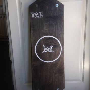 TAB Hand-finished Longboard Deck