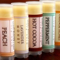 Lip Rescue 5Pack Beeswax Shea Cocoa Butter