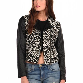 Blu Pepper Bailey Woven Jacket