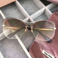 MIUMIU Fashion Popular Sun Shades Eyeglasses Glasses Sunglasses G-A-SDYJ