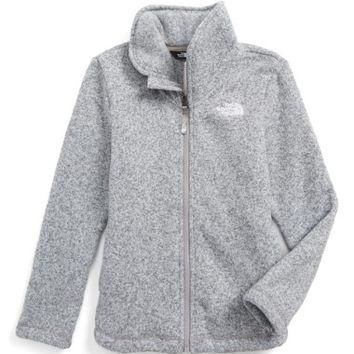 The North Face Crescent Fleece Jacket (Little Girls & Big Girls) | Nordstrom