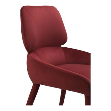 ADLER DINING CHAIR CLARET