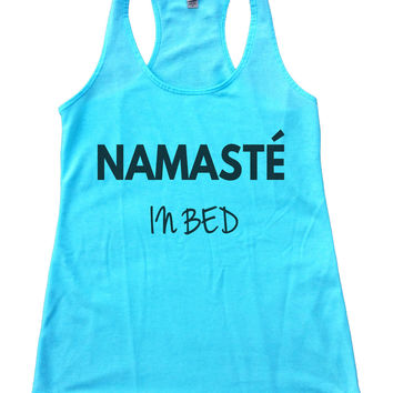 Namaste In Bed Womens Workout Tank Top F647