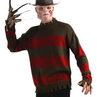Rubies Freddy Krueger Teen Boys Halloween Costume SWEATER