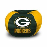 Green Bay Packers NFL Team Bean Bag (96 Round)""