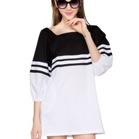 Irene Babydoll Varsity Dress