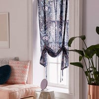 Lillian Floral Draped Shade Curtain | Urban Outfitters