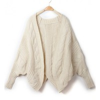 *Free Shipping* Beige Women One Size Sweater HXA1567 from MaxNina