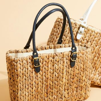 Free People St. Barts Straw Tote
