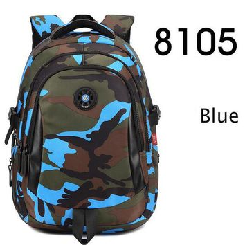 Student Backpack Children Yirenfang 2017 Designer Women Backpack Camouflage Printing School Bags For Teenagers Student Girls Waterproof Backpack Men AT_49_3