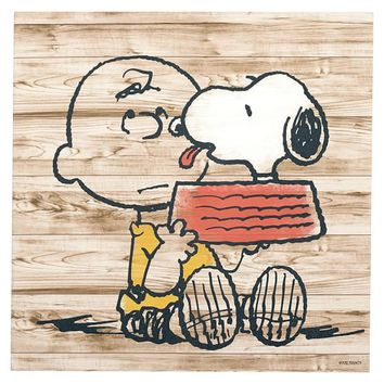 "Peanuts ™""Let's Do Lunch"" Canvas Art"