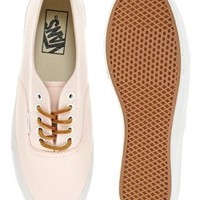 Vans Authentic Slim Light Pink Trainers at asos.com