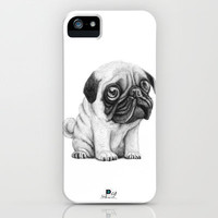 Pug Pug 01 iPhone Case by Juanpablo Castromora | Society6