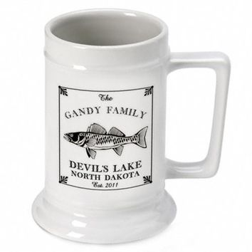 Lake House Cabin Beer Mugs and Steins Personalized Free