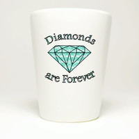 Diamonds are Forever Shot Glass