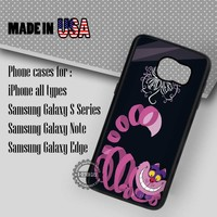 Samsung S7 Case - Cheshire Cat Disney- iPhone Case #SamsungS7Case #alice #yn