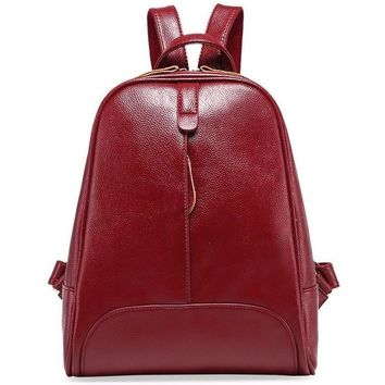 Sunset Genuine Leather Backpack
