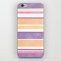 Between The Purple Lines iPhone Skin by sm0w