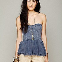 Free People  Clothing Boutique > Eyelet Peplum
