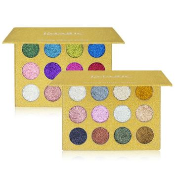 """Golden Goddess"" Pressed Glitter Eyeshadow Palette"