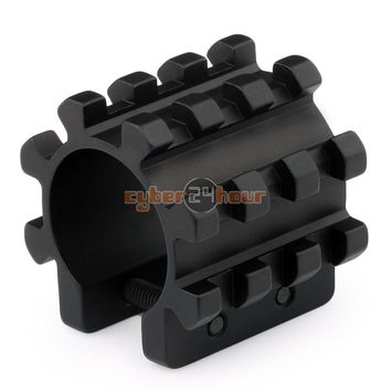 NEW Tactical Tri Rail Mount For Mag Tubes Fits 12 Gauge Mossberg 500 590 835 Shotgun Free Shipping
