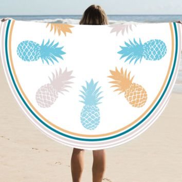 Pineapple Beach Blanket