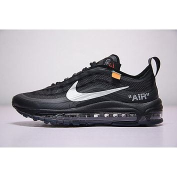 Virgil Abloh Off White X Nike Air Max 97 Aj4585 001  965f6eef7e