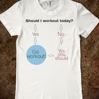 Workout flowchart